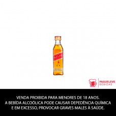 WHISKY RED LABEL 50 ML